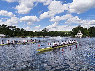 Henley Regatta, Henley-on-Thames, Oxfordshire, England, United Kingdom, Europe