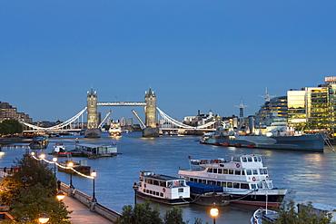 City of London panorama, London, England, United Kingdom, Europe