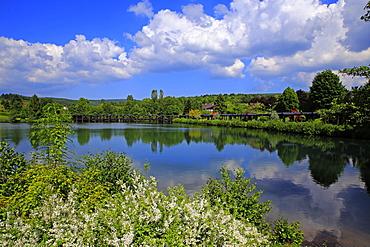 Spa Gardens of Weiskirchen, Saarland, Germany, Europe