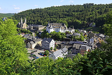 Town of Clervaux, Canton of Clervaux, Grand Duchy of Luxembourg, Europe