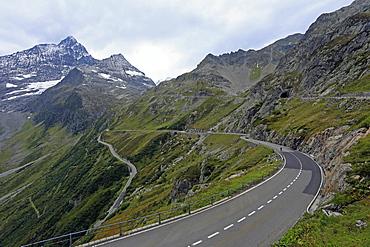 Susten Pass Road, Uri, Switzerland, Europe