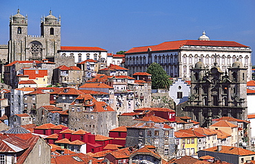 Bishop's Palace and City Cathedral, Porto, Portugal