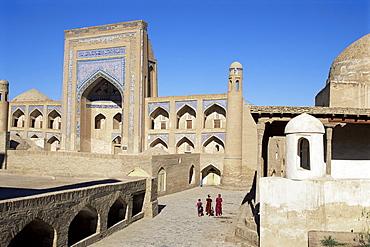 Allakuli Khan madrasah, Khiva, Uzbekistan, Central Asia, Asia