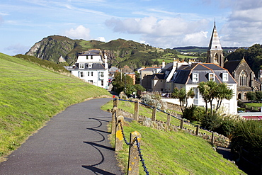 Town centre, Ilfracombe, Devon, England. United Kingdom, Europe