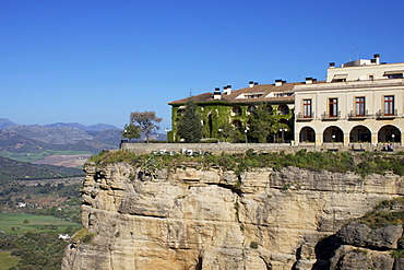 Parador, Ronda, Malaga Province, Andalucia, Spain, Europe