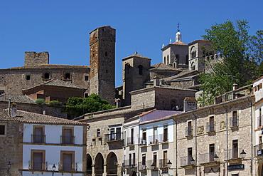 Plaza Mayor, Trujillo, Extremadura, Spain, Europe
