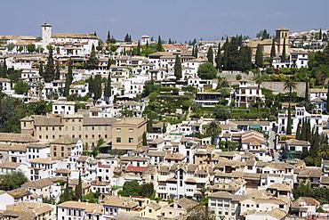 Old City, Granada, Andalucia, Spain, Europe