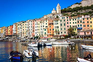 Porto Venere, Cinque Terre, UNESCO World Heritage Site, Liguria, Italy, Europe