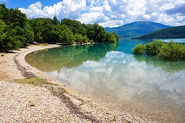 Lac de Sainte-Croix, Gorges du Verdon, France, Europe