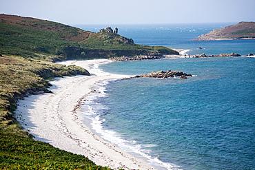Beach on St. Martin's Island, Isles of Scilly, United Kingdom, Europe