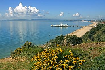Bournemouth Pier, Poole Bay, Dorset, England, United Kingdom, Europe