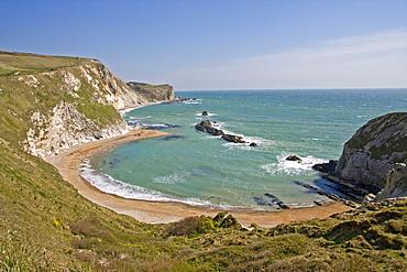 St. Oswald's Bay, Dorset, England, United Kingdom, Europe