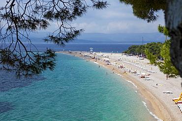Bol, Ziatni Rat beach, Brac Island, Dalmatian Coast, Croatia, Europe