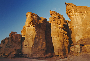 Solomon's Pillars, Timna Valley, Israel, Middle East