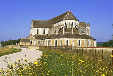 Pontigny Abbey, Bourgogne (Burgundy), France, Europe
