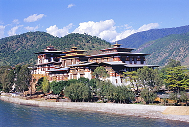 Punakha Dzong (monastery), Punakha, Bhutan