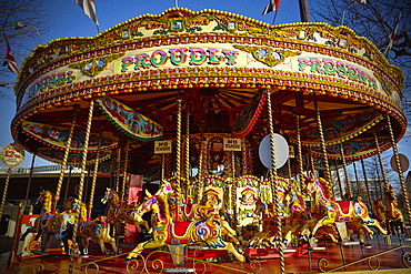 Carousel, Southbank, London, England, United Kingdom, Europe