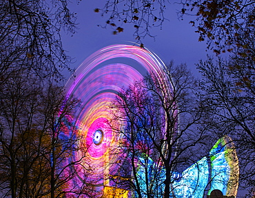 Winter Wonderland, Hyde Park, London, England, United Kingdom, Europe