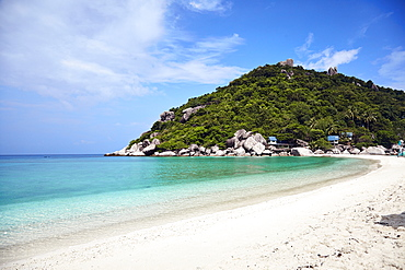 Koh Nang Yuan island in the Gulf of Thailand, Thailand, Southeast Asia, Asia
