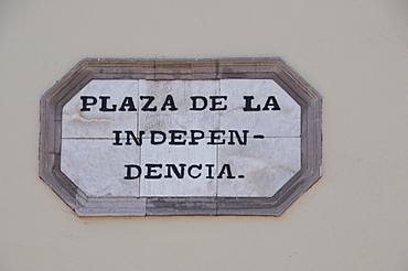 Plaza de la Independecia, Queretaro, Queretaro State, Mexico, North America