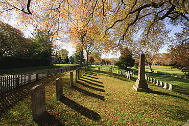 Cemetery, East Hampton, The Hamptons, Long Island, New York State, United States of America, North America
