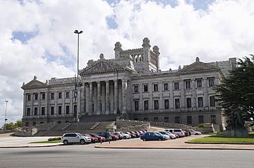 Palacio Legislativo, the main building of government, Montevideo, Uruguay, South America