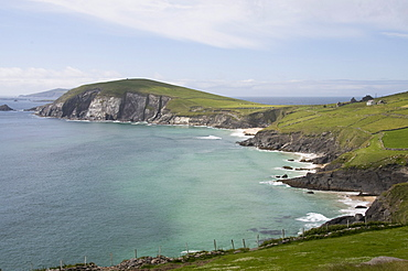 View from Slea Head Drive, Dingle Peninsula, County Kerry, Munster, Republic of Ireland, Europe