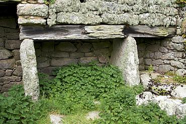 Old abandoned housing on Samson, Isles of Scilly, United Kingdom, Europe