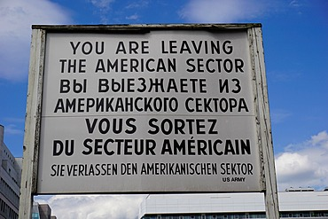 Checkpoint Charlie, Berlin, Germany, Europe