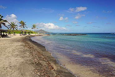 Nesbit Beach Club, Nevis, St. Kitts and Nevis, Leeward Islands, West Indies, Caribbean, Central America