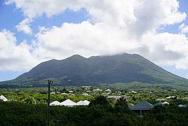 Mount Nevis, Nevis, St. Kitts and Nevis, Leeward Islands, West Indies, Caribbean, Central America