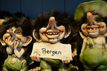 Trolls, Bergen, Hordaland, Norway, Scandinavia, Europe