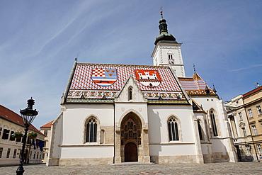 St. Mark's church on the Market Square, Government Quarter, Upper Town, Zagreb, Croatia, Europe