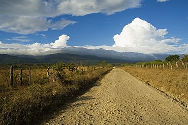 Clouds over the Rincon Volcano, near Rincon de la Vieja National Park, Gaunacaste, Costa Rica