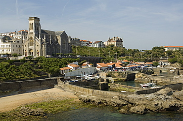 Fishing port, Biarritz, Basque country, Pyrenees-Atlantiques, Aquitaine, France, Europe