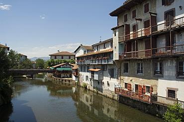 Saint Jean Pied de Port (St.-Jean-Pied-de-Port), Basque country, Pyrenees-Atlantiques, Aquitaine, France, Europe