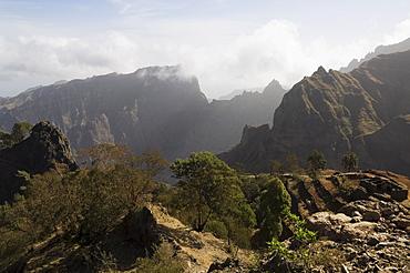 Landscape near Corda, Santo Antao, Cape Verde Islands, Africa