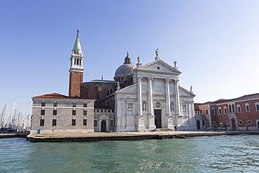 San Giorgio Maggiore, Venice, UNESCO World Heritage Site, Veneto, Italy, Europe