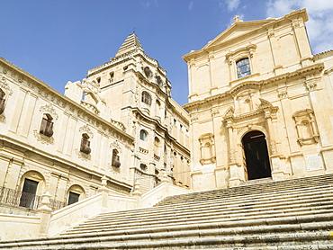 San Francesco Church, Noto, UNESCO World Heritage Site, Sicily, Italy, Europe