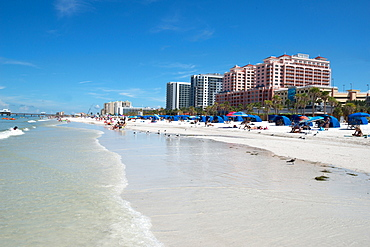 The beach at Clearwater, Florida, United States of America, North America