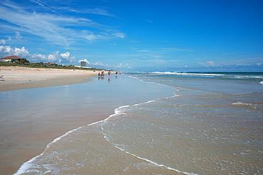 The beach at Flagler Beach, Florida, United States of America, North America
