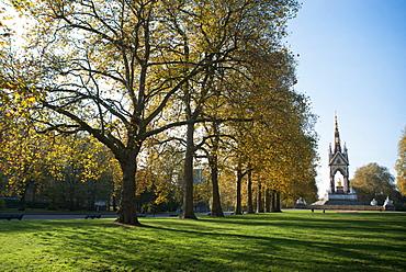Autumn in Hyde Park, London, England, United Kingdom, Europe