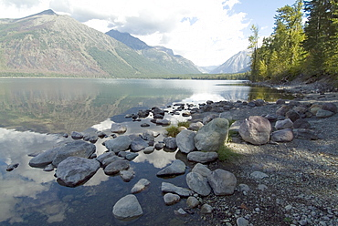 McDonald Lake, Glacier National Park, Montana, United States of America, North America
