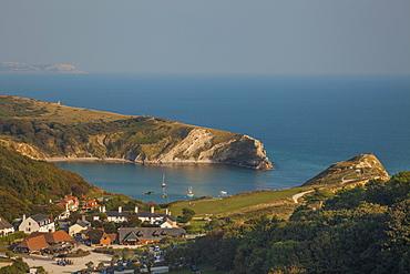 Lulworth Cove, Jurassic Coast, UNESCO World Heritage Site, Dorset, England, United Kingdom, Europe