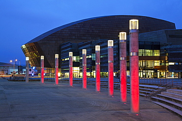 Millennium Centre, Cardiff Bay, Cardiff, Wales, United Kingdom, Europe