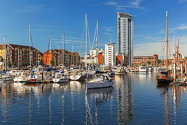 Swansea Marina, Swansea, Wales, United Kingdom, Europe