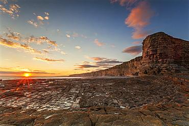 Nash Point, Glamorgan Heritage Coast, Wales, United Kingdom, Europe