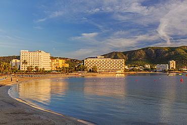Palma Nova Beach, Majorca, Balearic Islands, Spain, Mediterranean, Europe