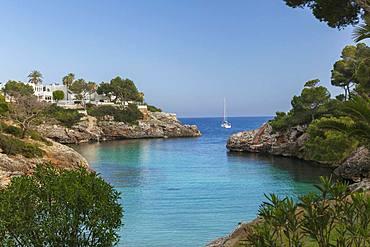 Cala Egos Beach, Cala D'or, Mallorca, Balearic Islands, Spain, Mediterranean, Europe