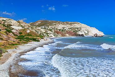 Aphrodite's Rock, Paphos, Cyprus, Mediterranean, Europe